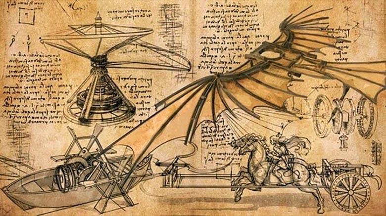 12 невероятных изобретений Леонардо да Винчи