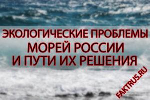 Экологические проблемы морей России