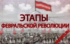 Этапы Февральской революции