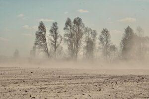 Факты о пылевых бурях