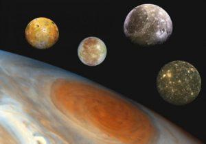 Галилеевы спутники Юпитера