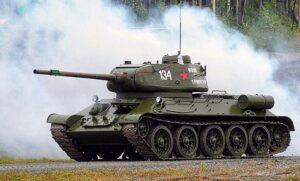 Факты о танке Т-34