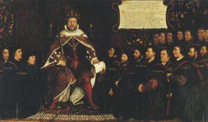 Королевская власть. Реформация в Англии.