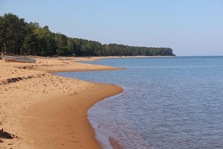 Пляж Байкала