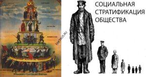 Социальная стратификация общества