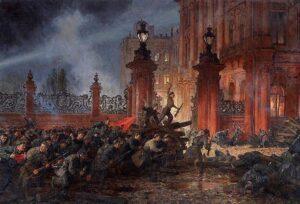 Вооружённое восстание в Петрограде