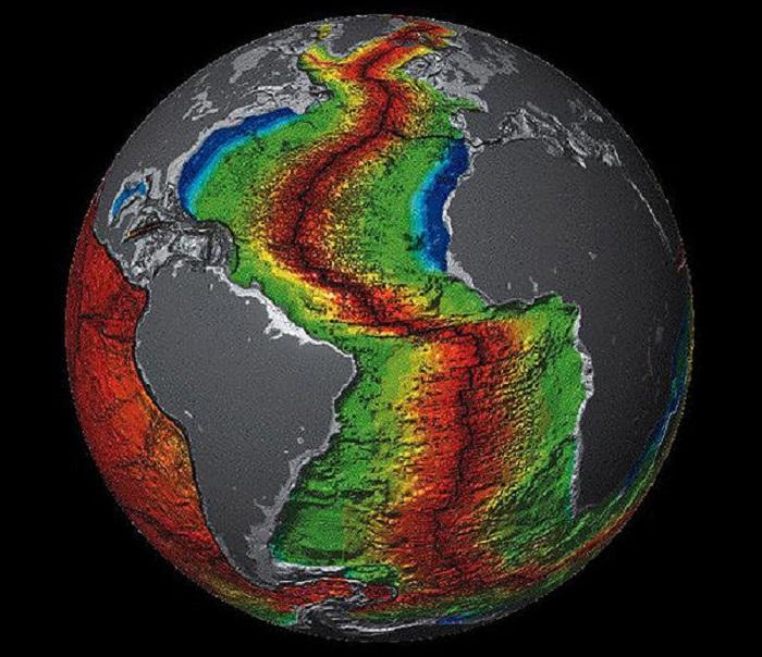 Атлантический хребет